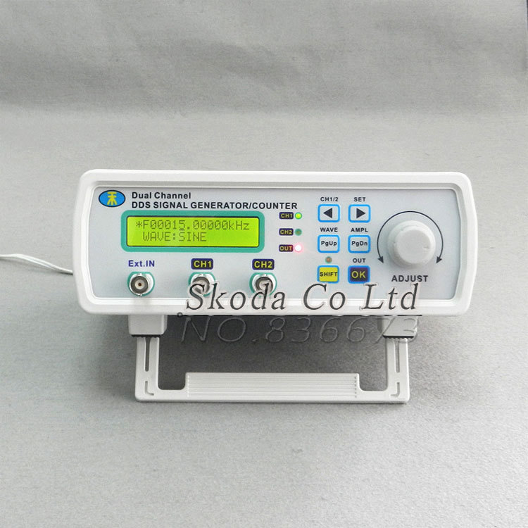 Гаджет  Free shipping MHS -3200A 12MHz DDS NC dual channel function signal generator,DDS signal source 4 kinds of waveform output None Инструменты