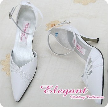 1 pair/lot Free Shipping Exquisite Handmade Customized Wedding White Bride Shoes A0605
