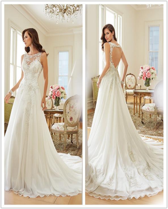 New look wedding dresses : Luxurious custom vestido de noiva new style wedding