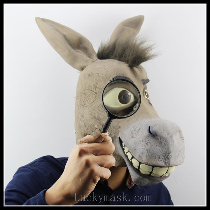 how to make a donkey head mask