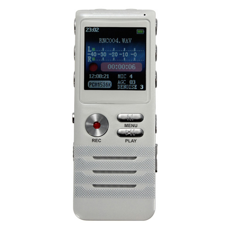 High Quality Professional 8GB MP3 Player USB Dictaphone LCD display Digital Voice Recorder pen Drive Recorder Noise reduction(China (Mainland))
