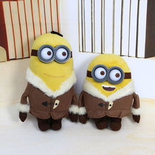 My Plush Toy Minion Figure Bob Kevin 30cm Boneco Despicable Banana Yellow Minions Stuffed Animals Peluche Doll Toys For Boy Baby(China (Mainland))