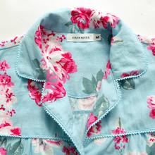 Song Riel sweet printing new winter pajamas Ms long sleeved cotton tracksuit suits Rain Man Creek