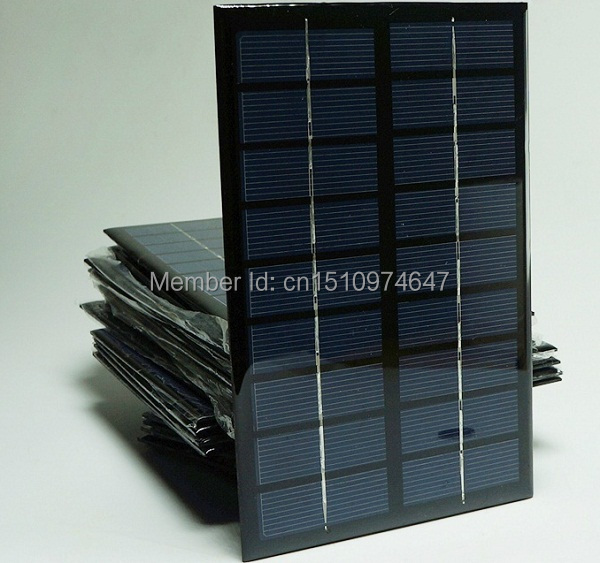Free shipping 9V 3W A grade High efficiency Epoxy solar panel. solar cell panel for make solar light or other solar kits(China (Mainland))