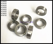 Buy 50pcs/Lot 6700ZZ 6700 ZZ 10x15x4mm Thin Wall Deep Groove Ball Bearing Mini Ball Bearing Miniature Bearing Brand New for $11.15 in AliExpress store
