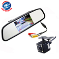 Car HD Video Auto Parking Monitor LED Night Vision Reversing CCD Car Rear View Camera With