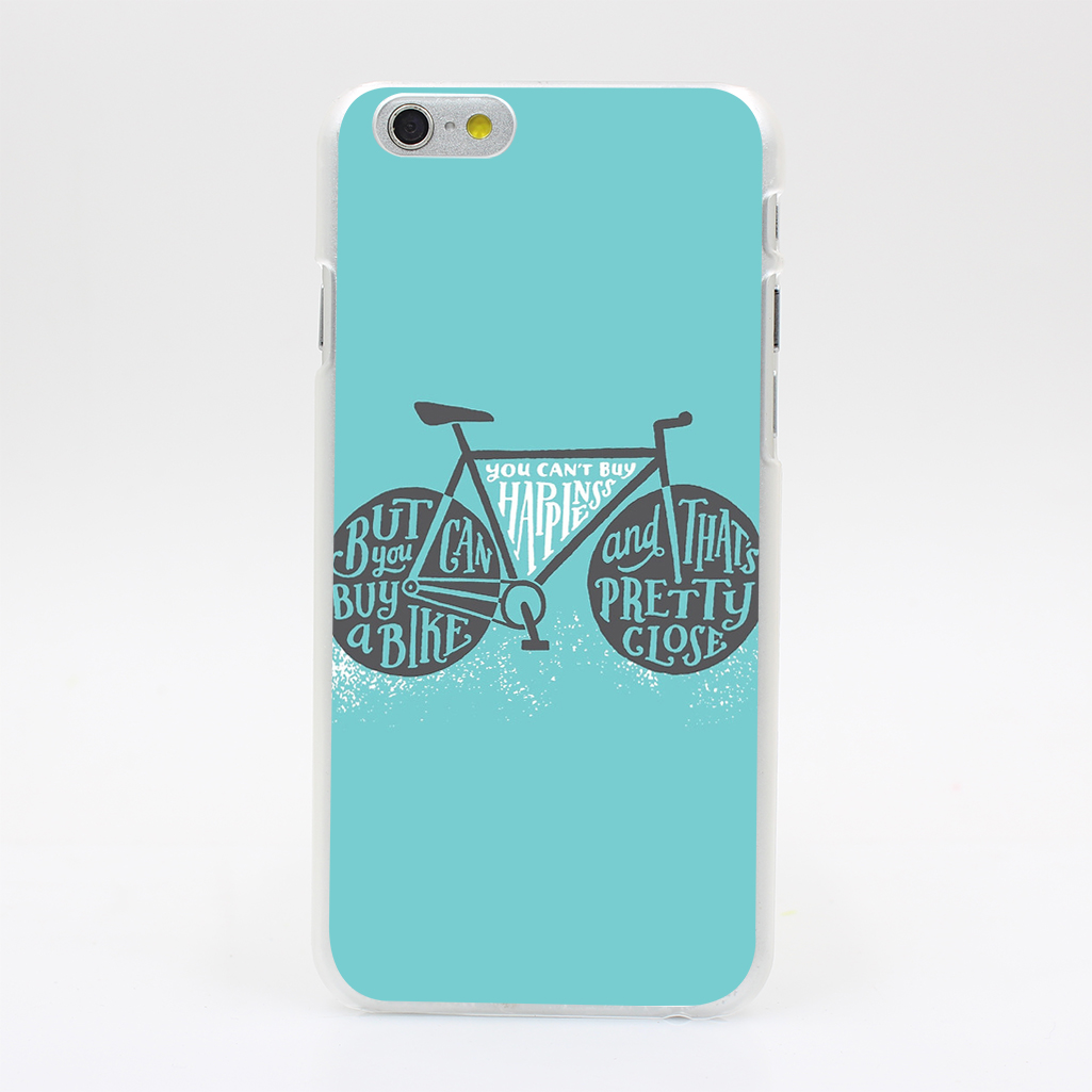 2650T You Can X27 t Buy Happiness Teal Hard Case Cover for iPhone 4 4s 5 5s SE 5C 6 6s Plus Skin Back(China (Mainland))