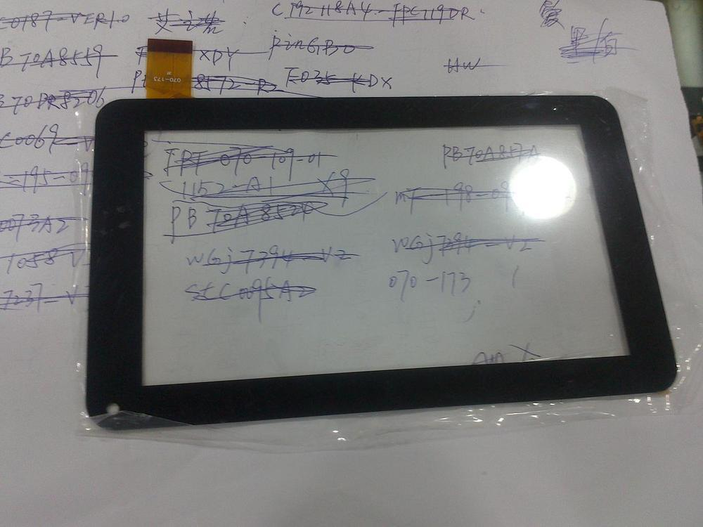 7 inch capacitive screen tablet PC 85V touch screen handwriting program screen 070-173(China (Mainland))