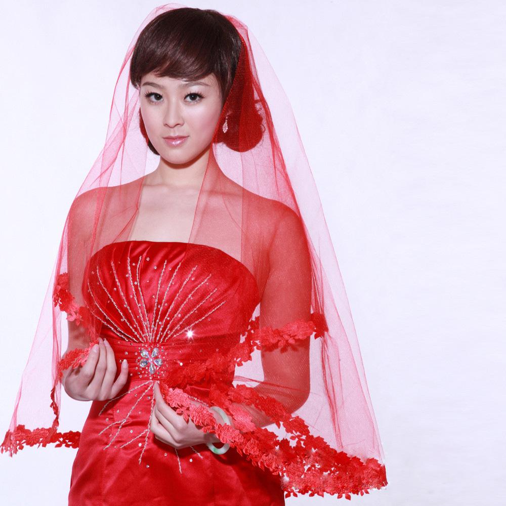 Hoge kwaliteit groothandel rode sluier van chinese rode sluier ...