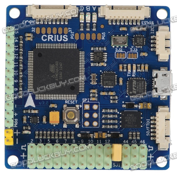 CRIUS All IN ONE PRO V2.0 Flight Controller Lastest Ver Pirate/MWC/ArduPlaneNG MultiWii(China (Mainland))