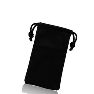 Mobile power bag cell phone pocket hard drive bag mobile phone flannelet bag protective case mobile phone case