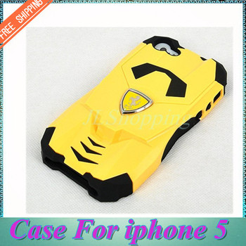 Free Shipping ! Cool  Sports Car   Phone Case Cover Fashion Cell Case For iphone 5  Multi colors