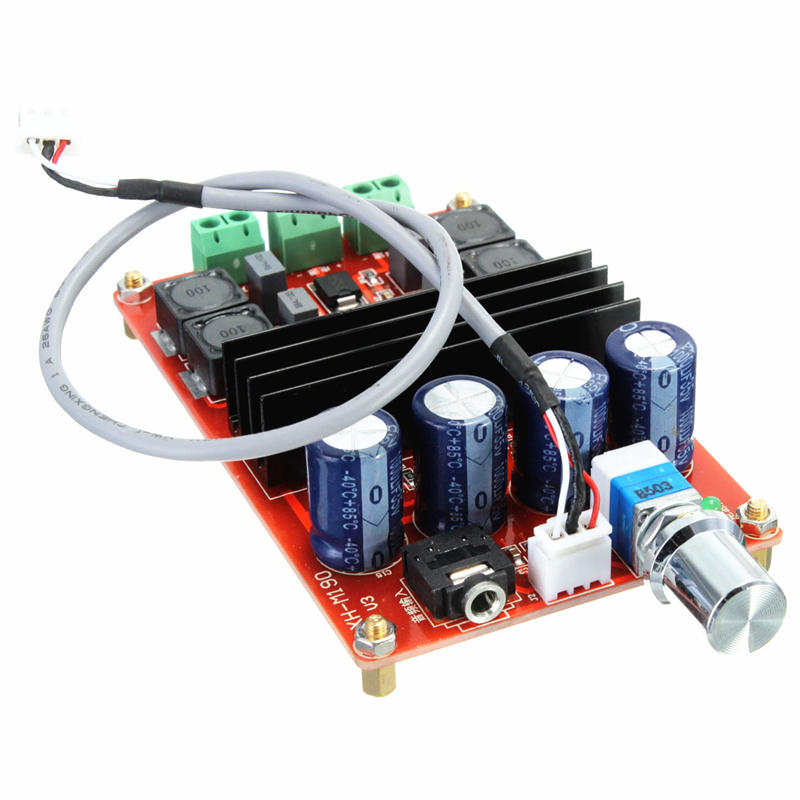 NEW TPA3116 2*100W D2 Dual Channel Digital Audio Amplifier Board 12V-24V For Arduino(China (Mainland))