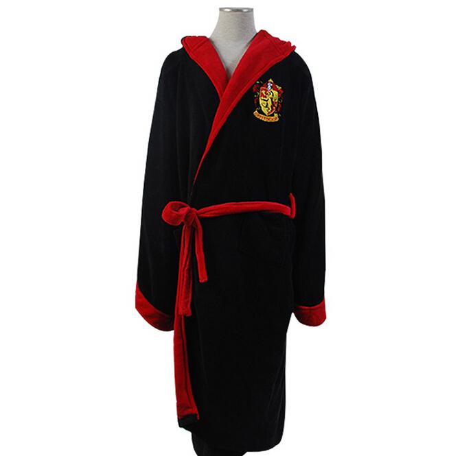 Harry Potter Hogwarts magic school Cospaly Bathrobes Cospaly Sleepwear Free Shipping
