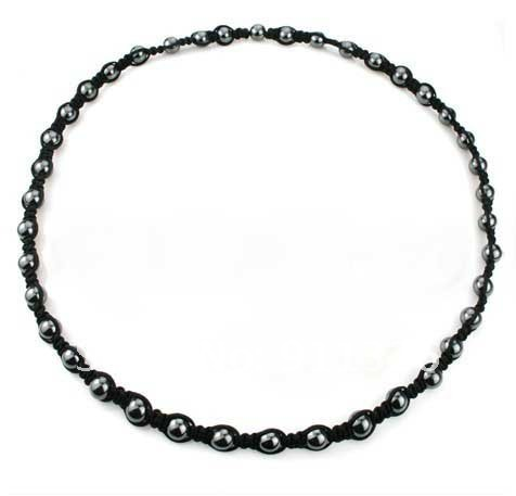 Wholesale retail stones health necklace magnetic beads shaped health care magnet Necklace Fashion Necklace(China (Mainland))