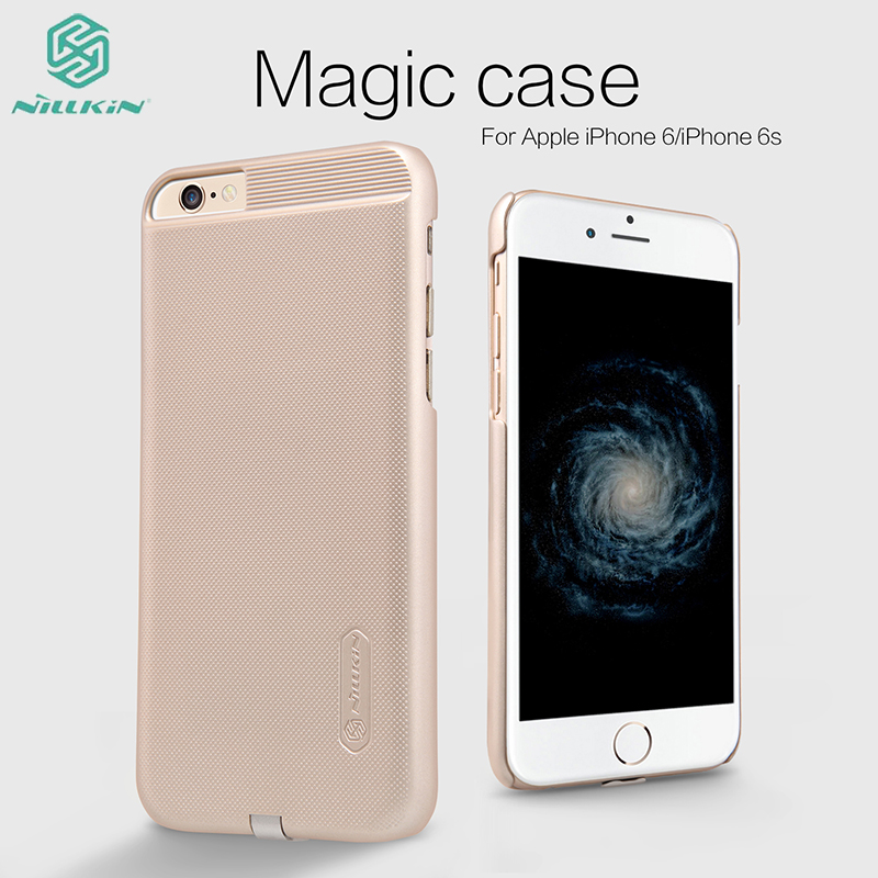 Nillkin A magic phone case with protection power Wireless charging Receiver Mobile Phone Case For iPhone 5S 6S 6plus Cover bag(China (Mainland))