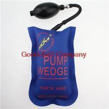 Newest Blue KLOM PUMP WEDGE LOCKSMITH TOOLS Auto Air Wedge Lock Pick Open Car Door Lock