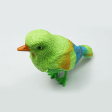 Plastic Sound Voice Control Activate Chirping Singing Bird Funny Toy Gift hv3n(China (Mainland))