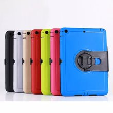 Silicone and Plastic Materials Cover for iPad Air 1 Case Shockproof Tablet Cover for iPad Air Case Combo Cases for iPad 5 9.7(China (Mainland))