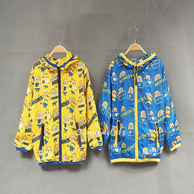 2 - 10 год миньон дети толстовки с длинным рукавом пиджаки толстовка дети миньонов ...