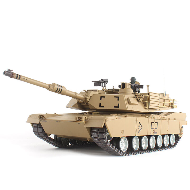 2.4G 1/16 US M1A2 Abrams Radio Remote Control Battle Tank Airsoft BB Gun Smoking Sound Effect Electronic RC Tank Model Toy(China (Mainland))