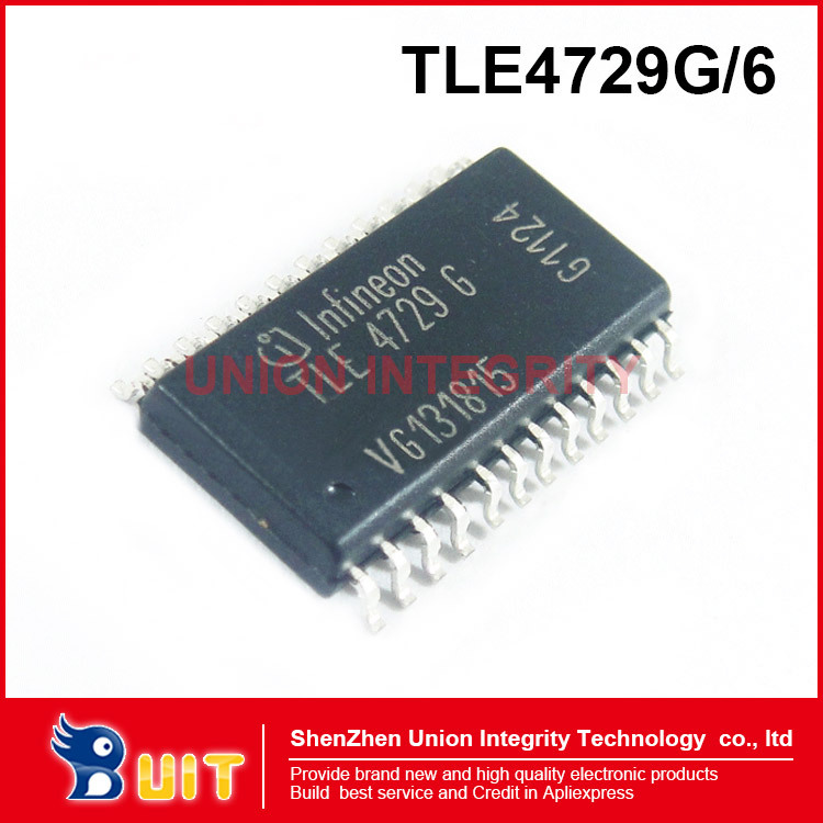 Free Shipping 10PCS TLE4729G \ 6 for Motorola engine computer board Siemens idle stepper motor driver IC chip(China (Mainland))