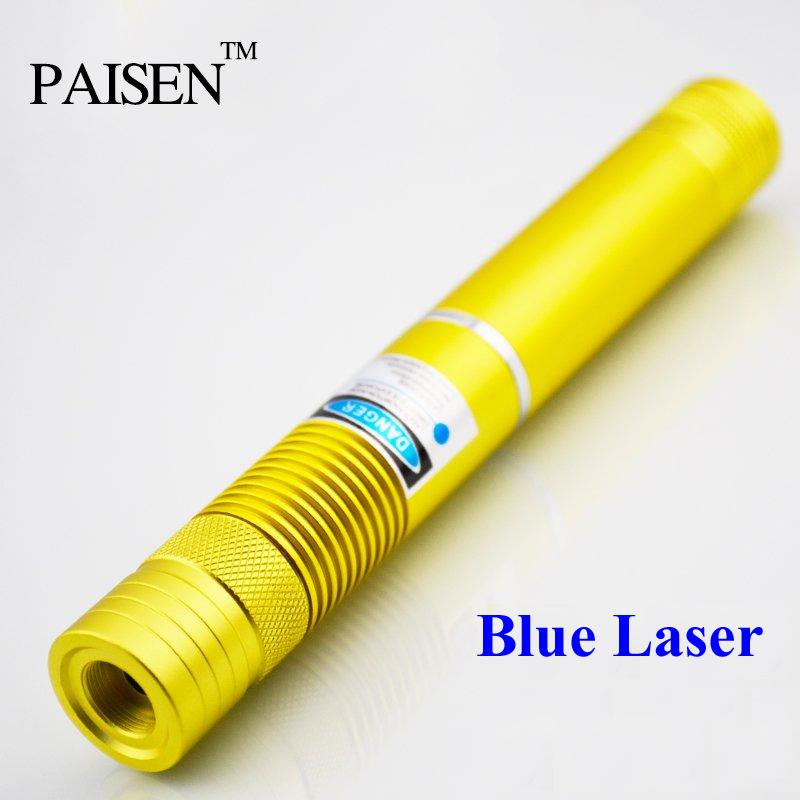 Paisen High Power 5000mw 5w 450nm Blue Laser Pointer
