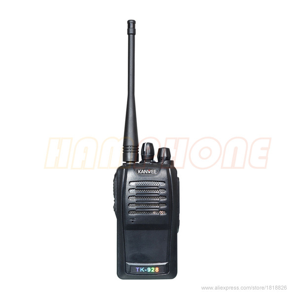 New Portable Radio Walkie Talkie KinWee TK-928 VHF 5W 16CH Two Way Radio handheld interphone CB radio Transceiver(China (Mainland))