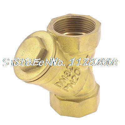 Y Type Sanitary Brass Filter for Water pipe 4cm Diameter Bronze Tone(China (Mainland))