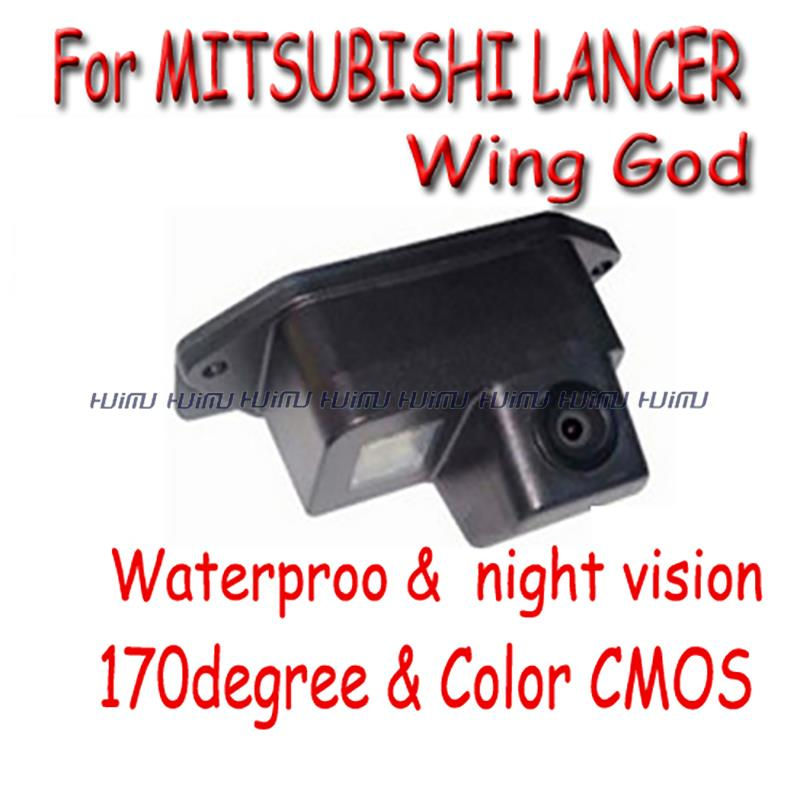 wired wireless Car Rear View camera Reverse parking for Mitsubishi Lancer LancerEvo Evolution (2006-2011) EX& Wing God(China (Mainland))