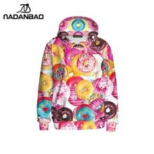 Nadanbao Новая осень Покемон Для женщин Толстовки Толстовка Мода chandal Mujer Completo Harajuku толстовки Женская одежда(China)