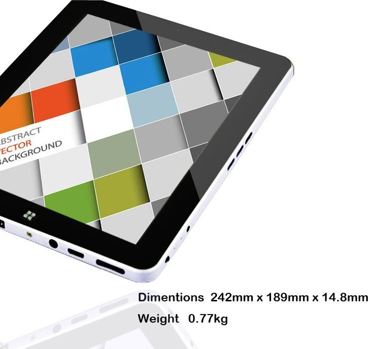 2014 New 9 7 inch Intel 4GB RAM 128GB windows 7 tablet pc dual core tablet