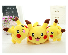 2016 New 25cm Pikachu Plush Toys Very Cute Pokemon Plush Toys for Children's Gift girlfriend gift free shipping(China (Mainland))