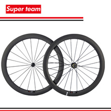 New Arrival 700C 50mm clincher wheelset matte finish carbon road wheels with Powerway Hub(China (Mainland))
