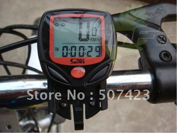 Free shipping Bicycle computer Cycle Computer Odometer Speedometer