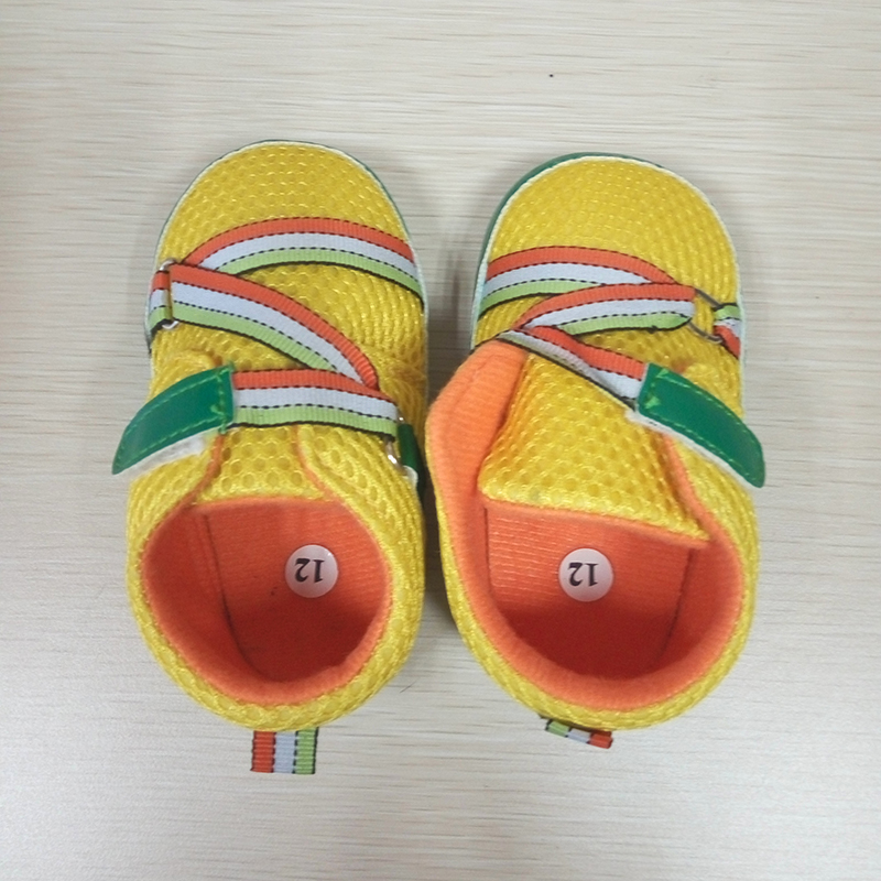 Age 0-2 Air Mesh Newborn Baby Boys First Walkers Soft Sole Baby Shoes Infantil Child Moccasins Kids Sports Sneakers Comfortable(China (Mainland))