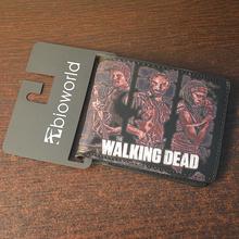 Neue Ankunft Brieftasche The Walking Dead Short Wallets Mit Karte halter Fotohalter Männer Und Frauen Geldbörse Cartoon Geldbörse Dollar preis(China (Mainland))