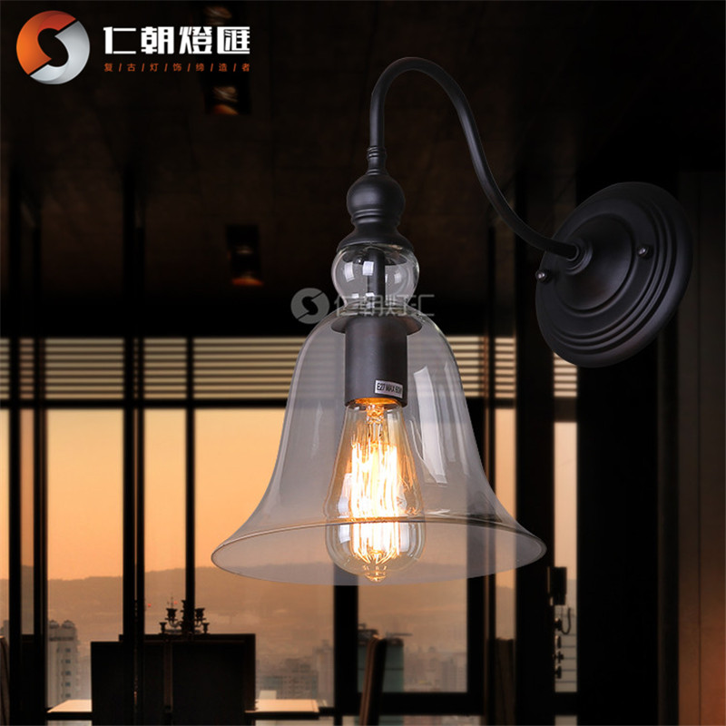 Modern Wall Lamps Europe : European rural retro lighting lamps warm bedside lamp modern minimalist bedroom balcony creative ...