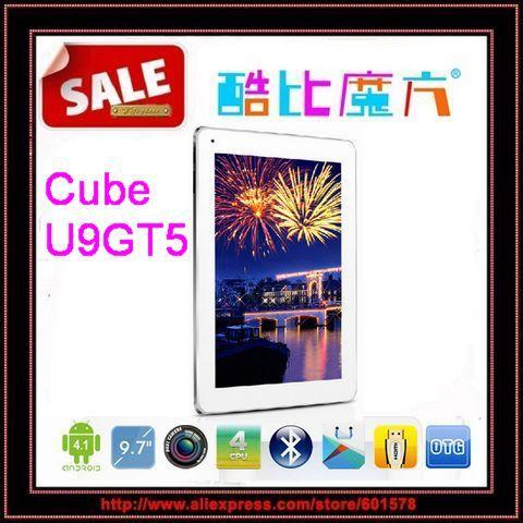 "Clearance 9.7"" Cube U9GT5 RK3188 Quad Core Tablet PC IPS Retina Screen 2048x1536 2GB RAM 16GB ROM Android 4.1 Dual Camera/Jessie(Hong Kong)"