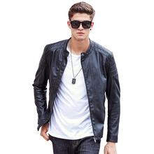 Pioneer Camp Motorcycle Leather Jackets Men Autumn Winter Leather Clothing Male casual Coats Brand clothing 611310(China (Mainland))