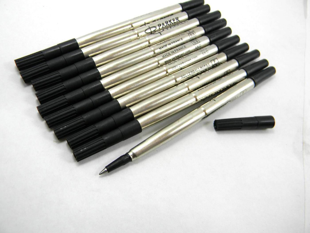 Whole 10 Pcs Black Hot Sale Good Quality Roller Ball Pen