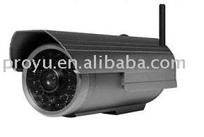 Wireless waterproof, waterproof IP Camera,CMOS  300,000  pixel, night vision function. with color box packing.  (FS-603A-M106)