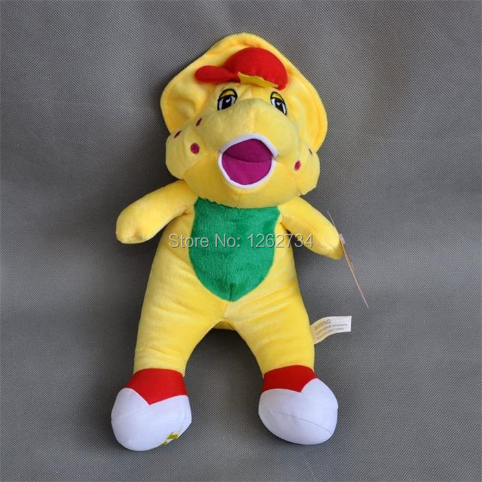 "Free Shipping Cute Barney's Friend BJ Plush Doll Cartoon Characters 7""(China (Mainland))"