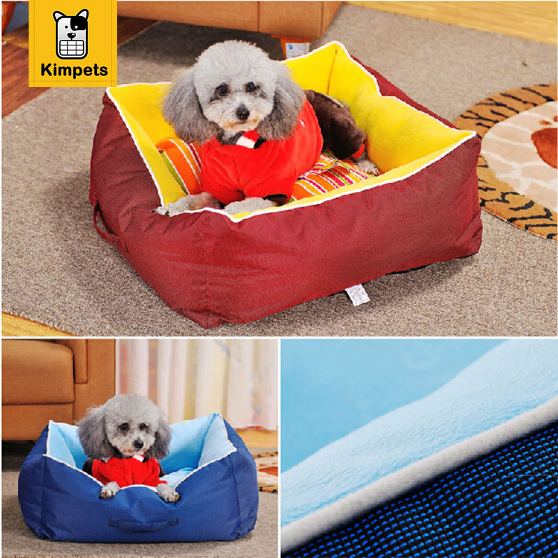 Winter Warm Removable Dog Bed Dog Cat House Pet Bed For Dog Pet Products Waterproof Kennel Pet Nest Pet Mats Dog Beds Cat Pad(China (Mainland))