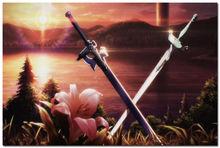 Sword Art Online Japan Animation Silk Poster 24×36″ Pictures For Living Room 002