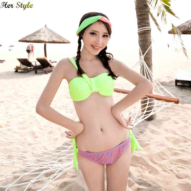 Free Shipping new 2015 bikini triangle swimsuit closed steel plate sized swimming 1432573640(China (Mainland))