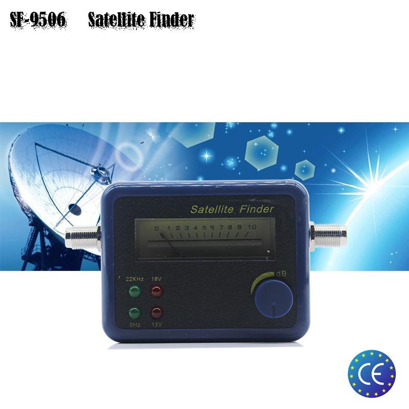 SF-9506 Hd Digital Satellite Finder For Satellite TV Reciever Support DVBS/DVBS2 Satellite Finder Satellite Meter(China (Mainland))