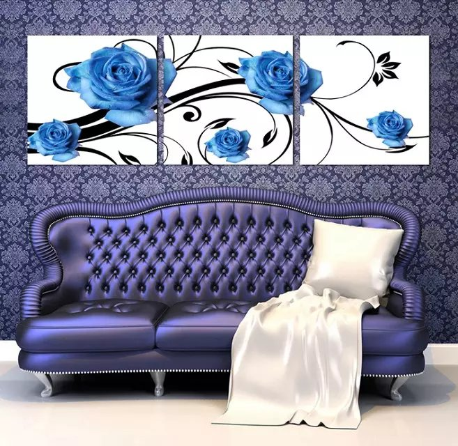 Wall Pictures for Living Room Flower Canvas-Koop Goedkope Wall ...