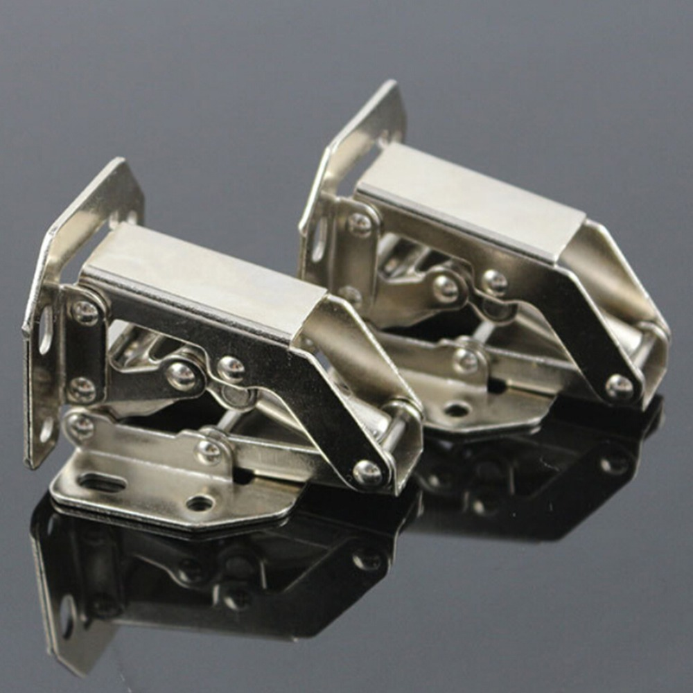 1PC Cabinet Cupboard Sprung Door Hinges 90 Degree Easy Mount Concealed Kitchen Cabinet Cupboard Sprung Door Hinges Use(China (Mainland))