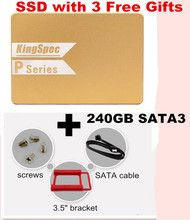 Free shipping kingspec 240GB 7mm 2.5″SSD/HDD Solid State hard Drive with cache 256mb Internal SATAIII 6Gbps for laptop/desktop